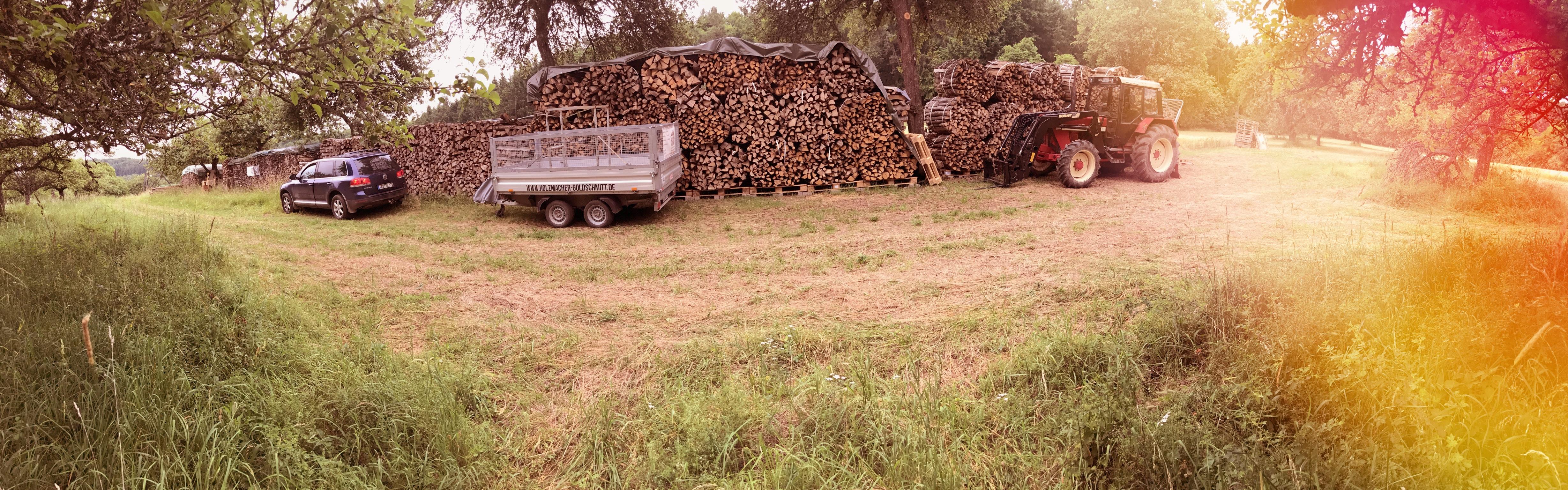 Brennholz – Lager